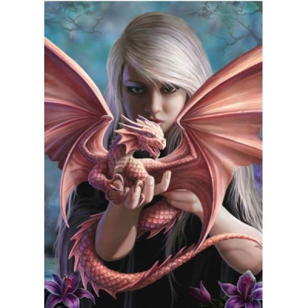 Anne Stokes Dragonkin Fantasy Greeting Card